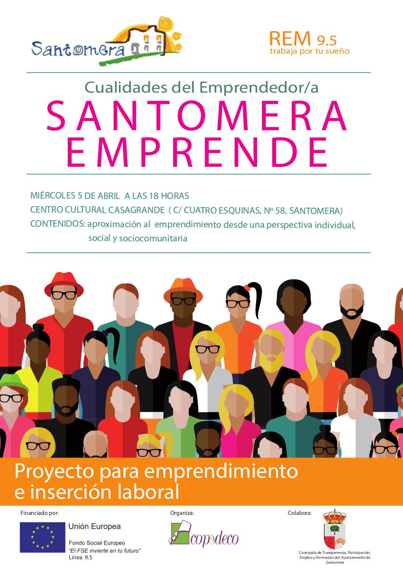 Cartel Santomera Emprende REM