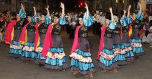 Grupo de baile de los Contrabandistas del Mediterráneo