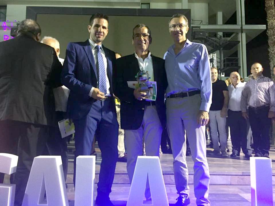 Antonio Morales premio Gala UFDRM