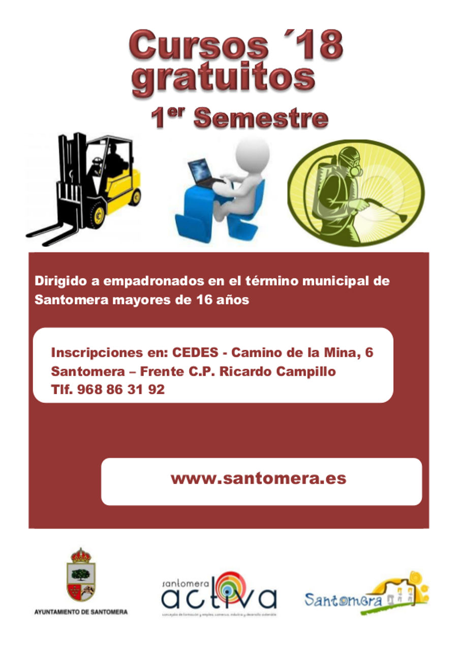 CURSOS DECES - Cartel