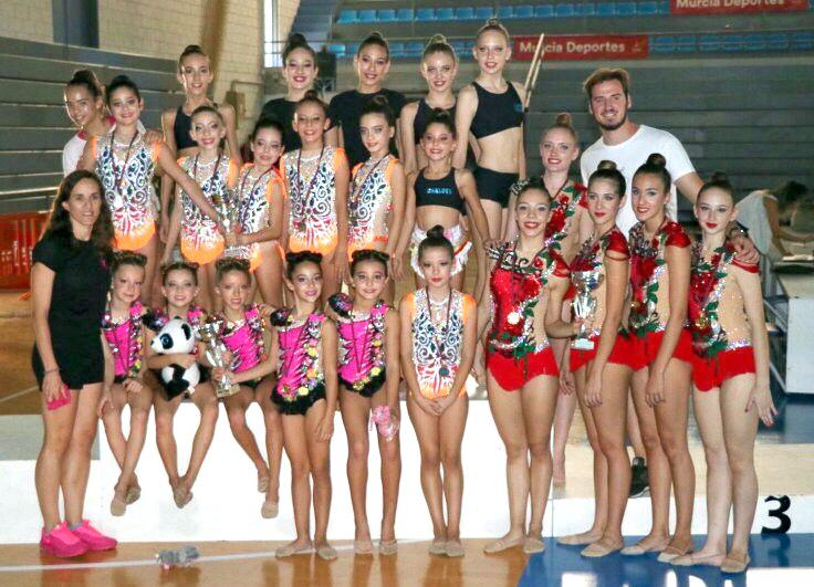 Club Ritmica, Campeonato Regional octubre 2017