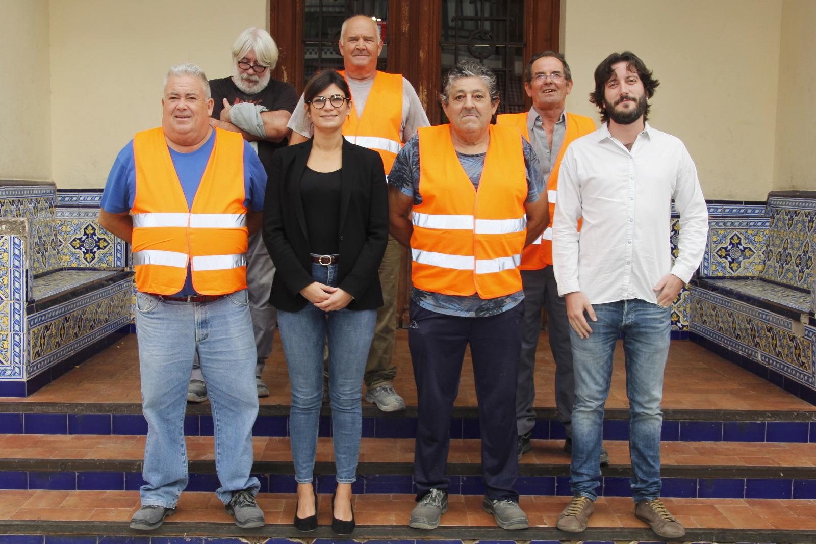 Nuevos trabajadores SEF 2017