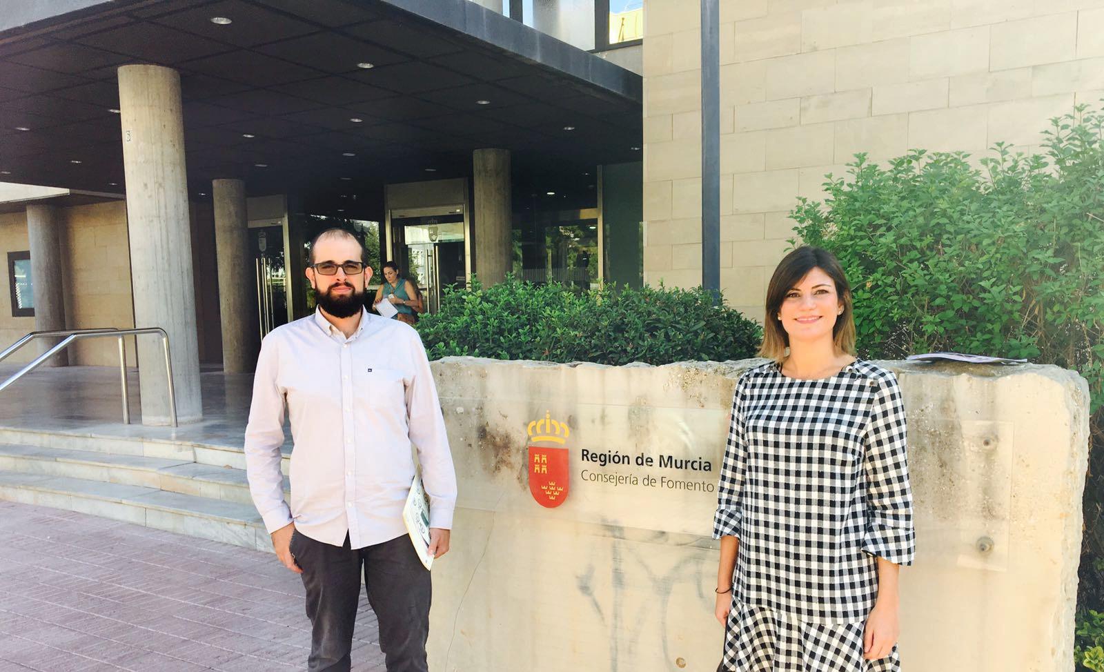 Reunion Fomento Casa del Huerto y Santomera rehabilita