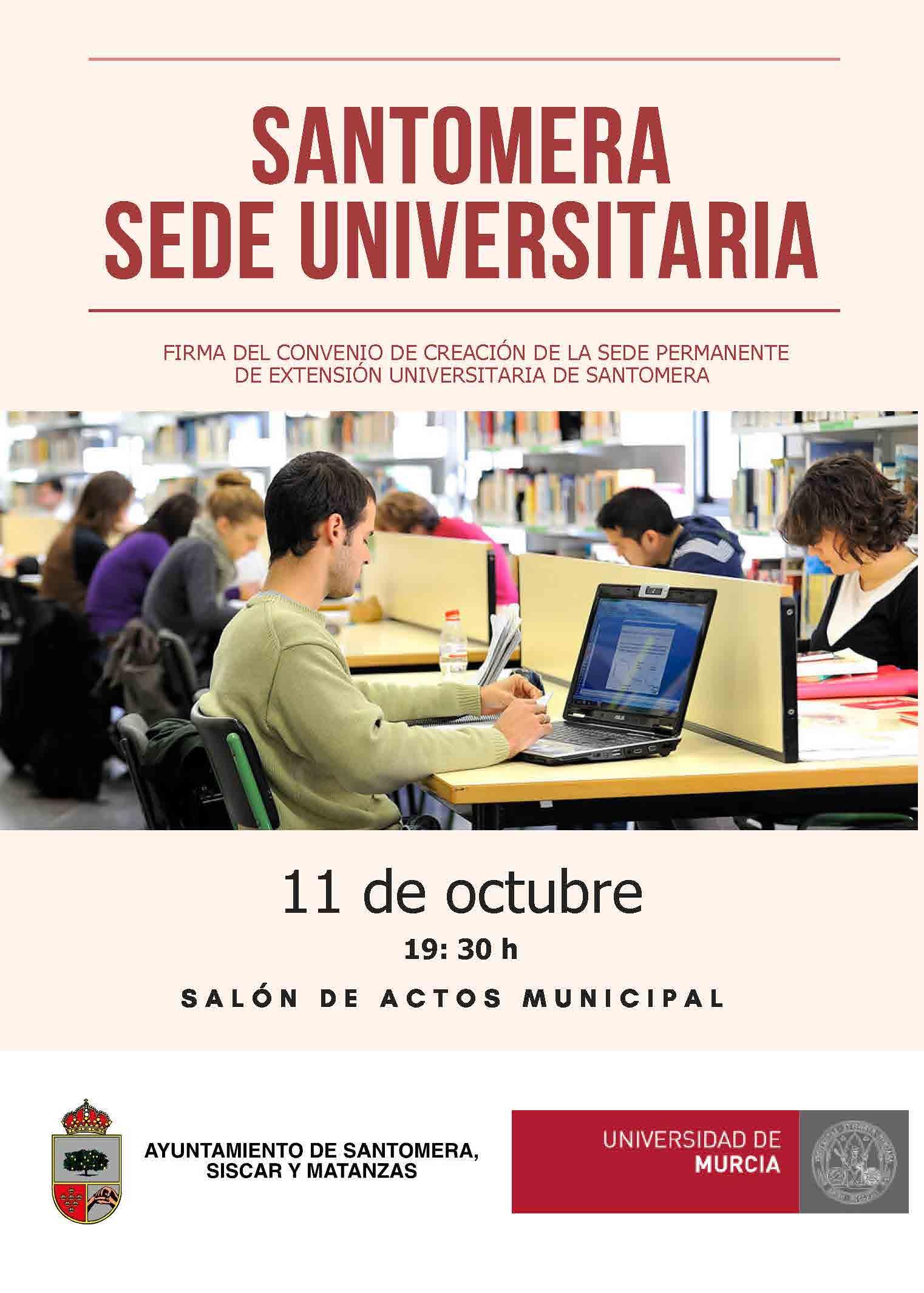 Sede_UMU_Santomera_cartel