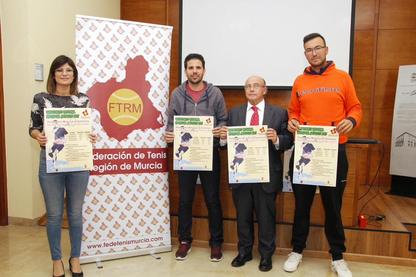 Presentacion Campeonato Regional de Tenis 2017