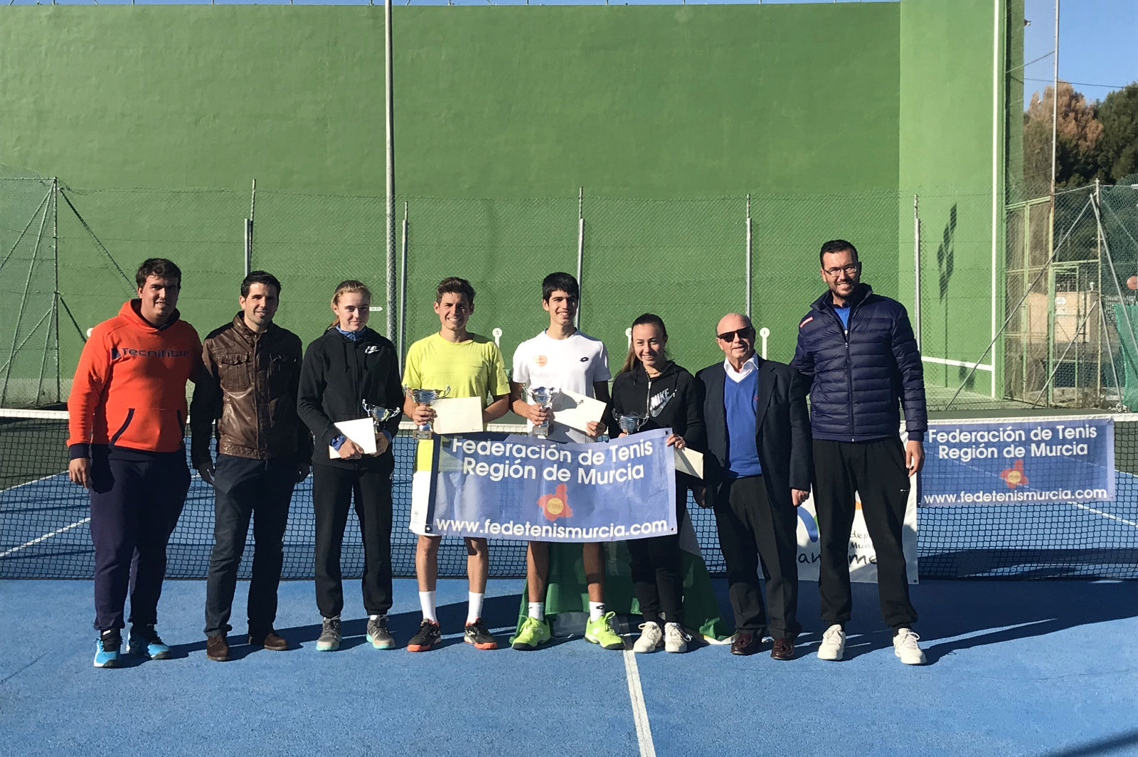 Finalistas Campeonato Regional Tenis 2017