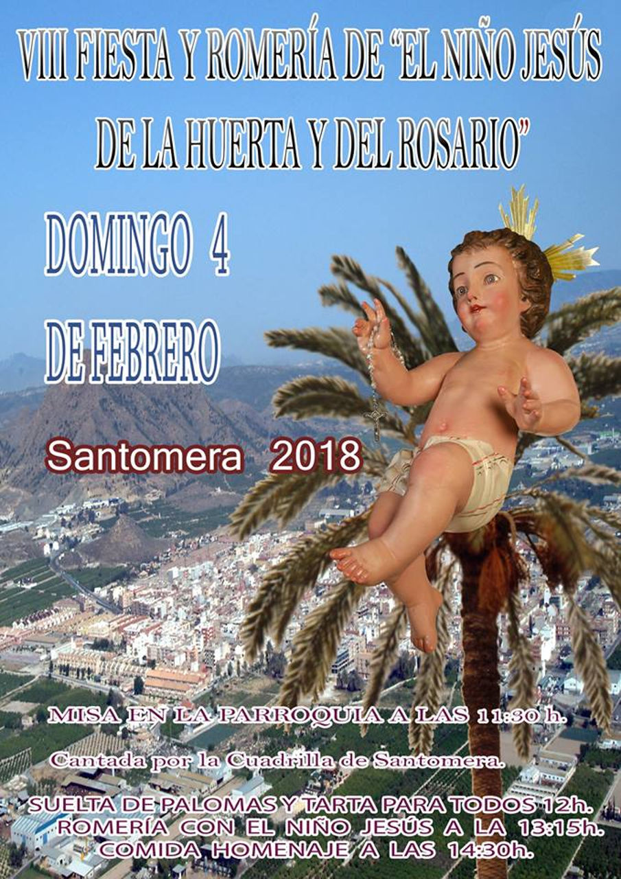 Fiesta y romeria del Niño 2018
