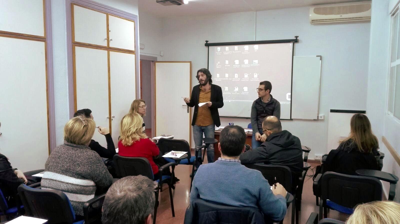 Reunion Ayuntamiento y AES web