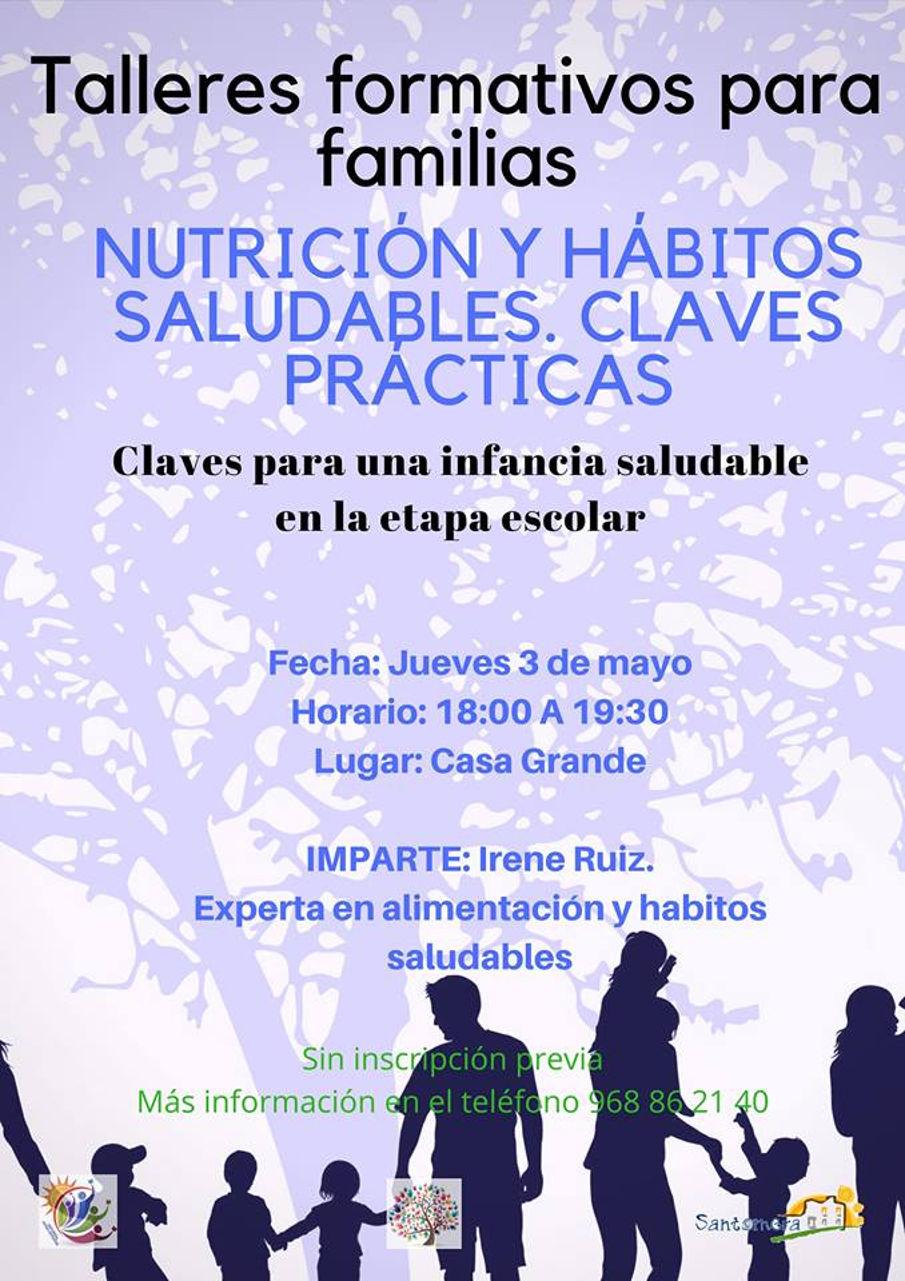 ESCUELA DE FAMILIA.- Nutricion y habitos saludables