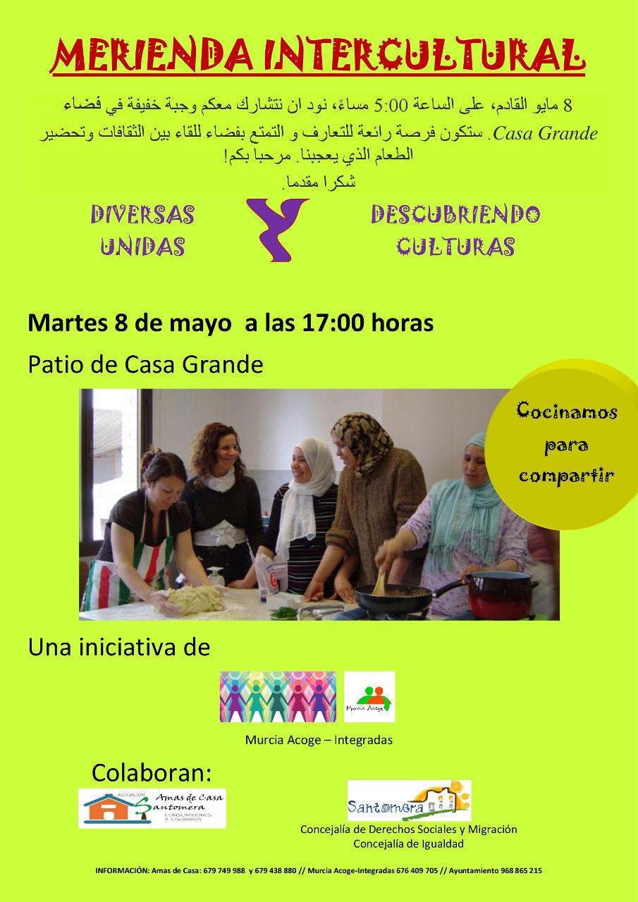 Merienda intercultural 042018