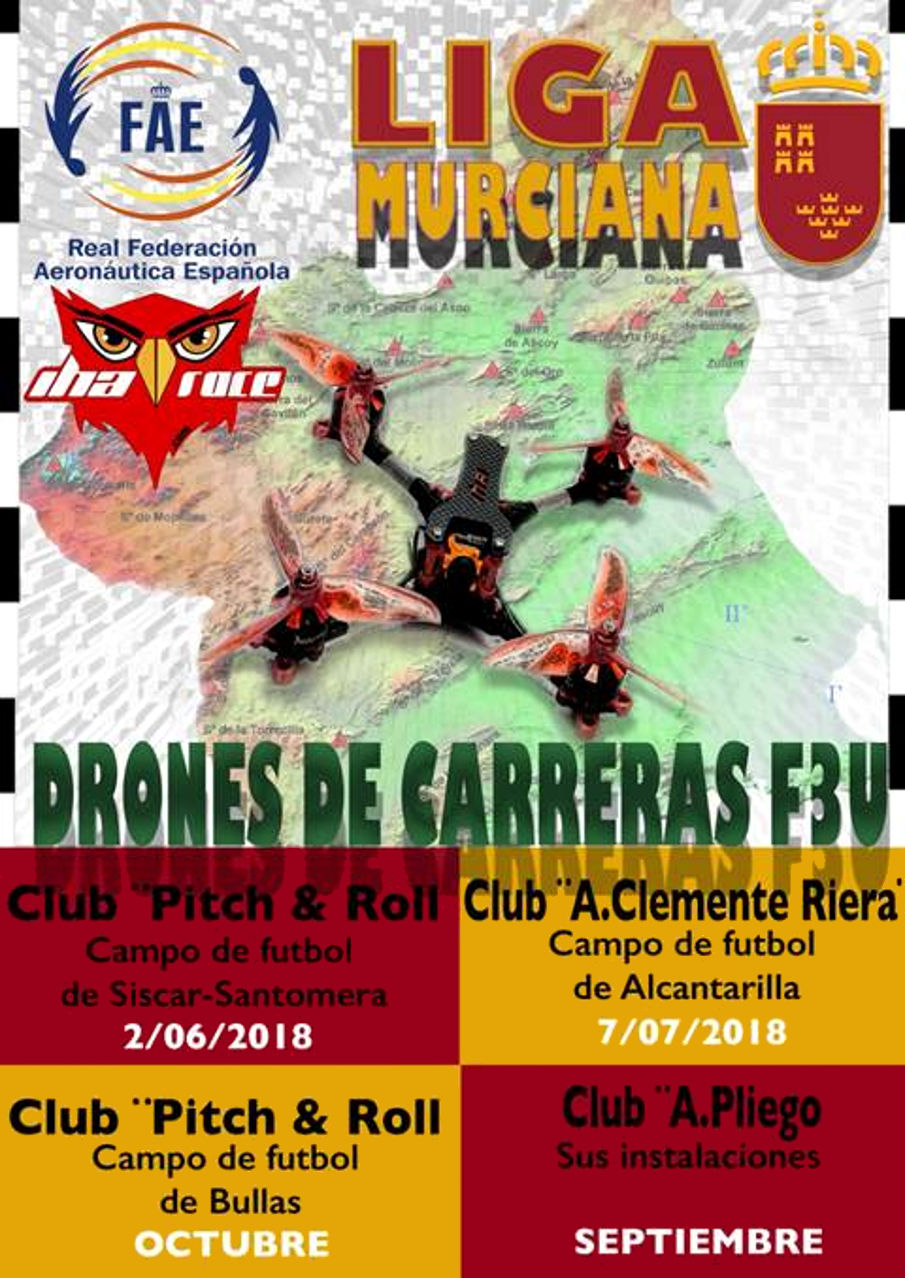 Carrera drones El Siscar 2018