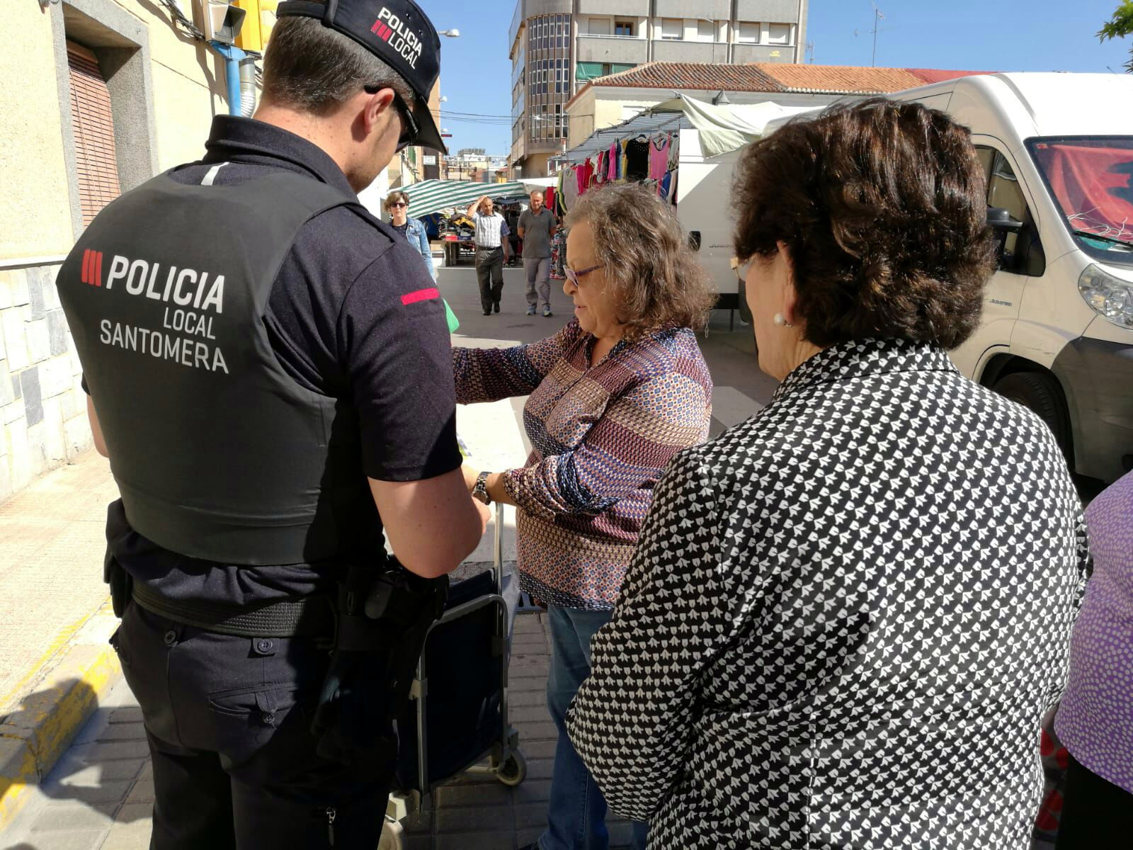 Policia Local campaña peatones