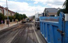 Asfaltado avenida Andres Murcia