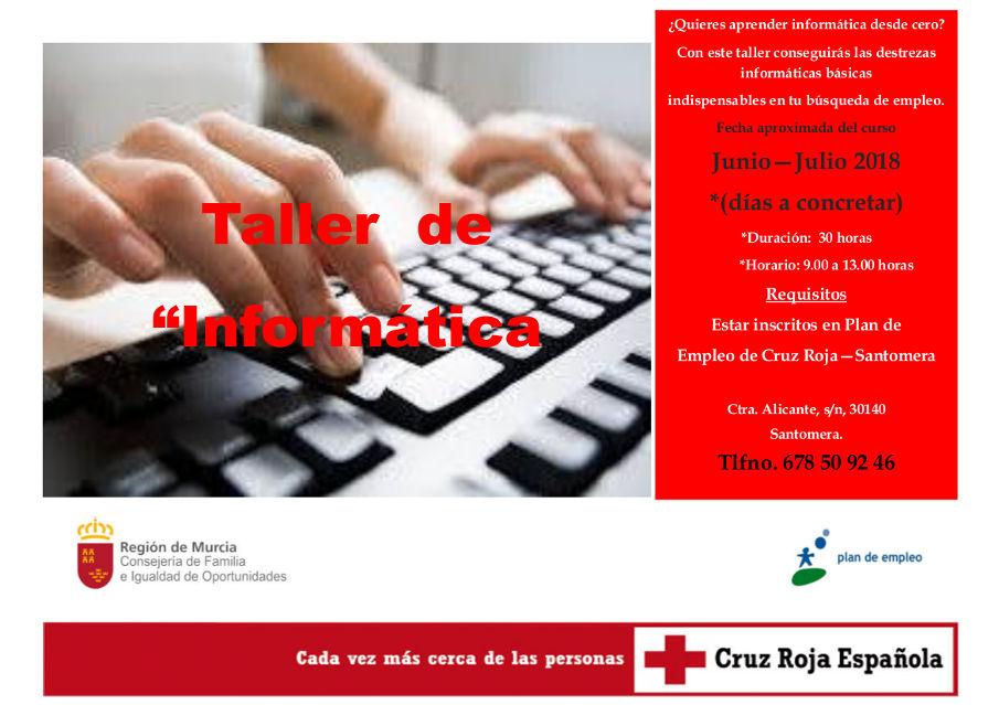 CRUZ ROJA Taller Informatica 201806