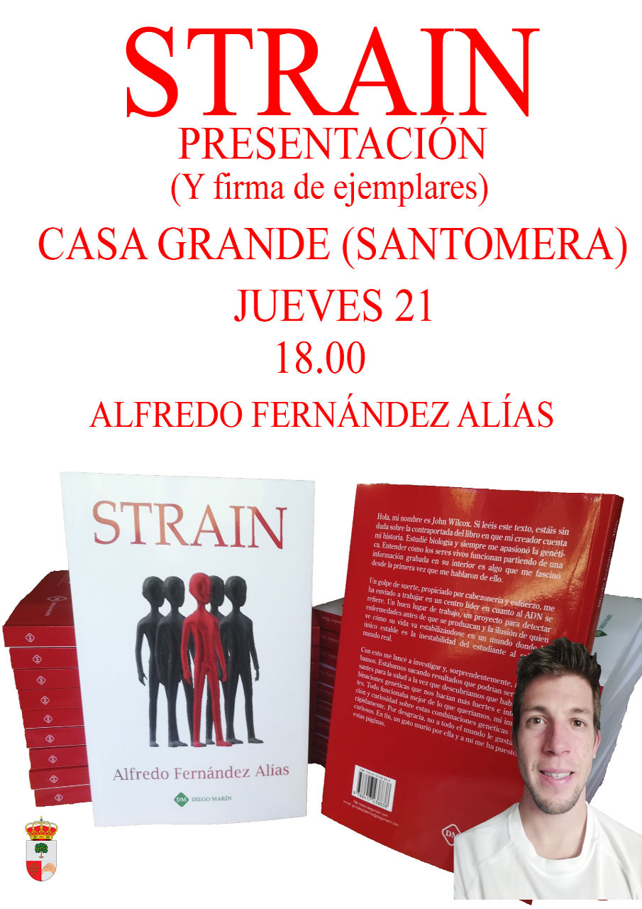 Presentacion libro Strain