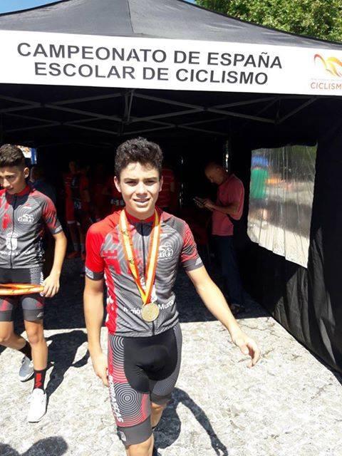 Pedro Camara, campeon ciclismo seleccion murciana