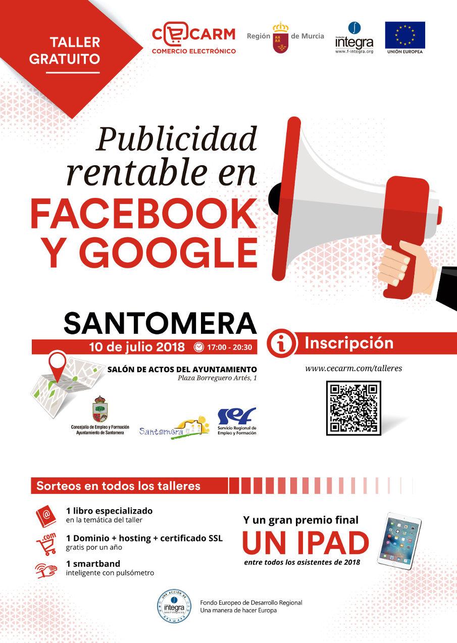 Taller publicidad rentable Facebook y Google