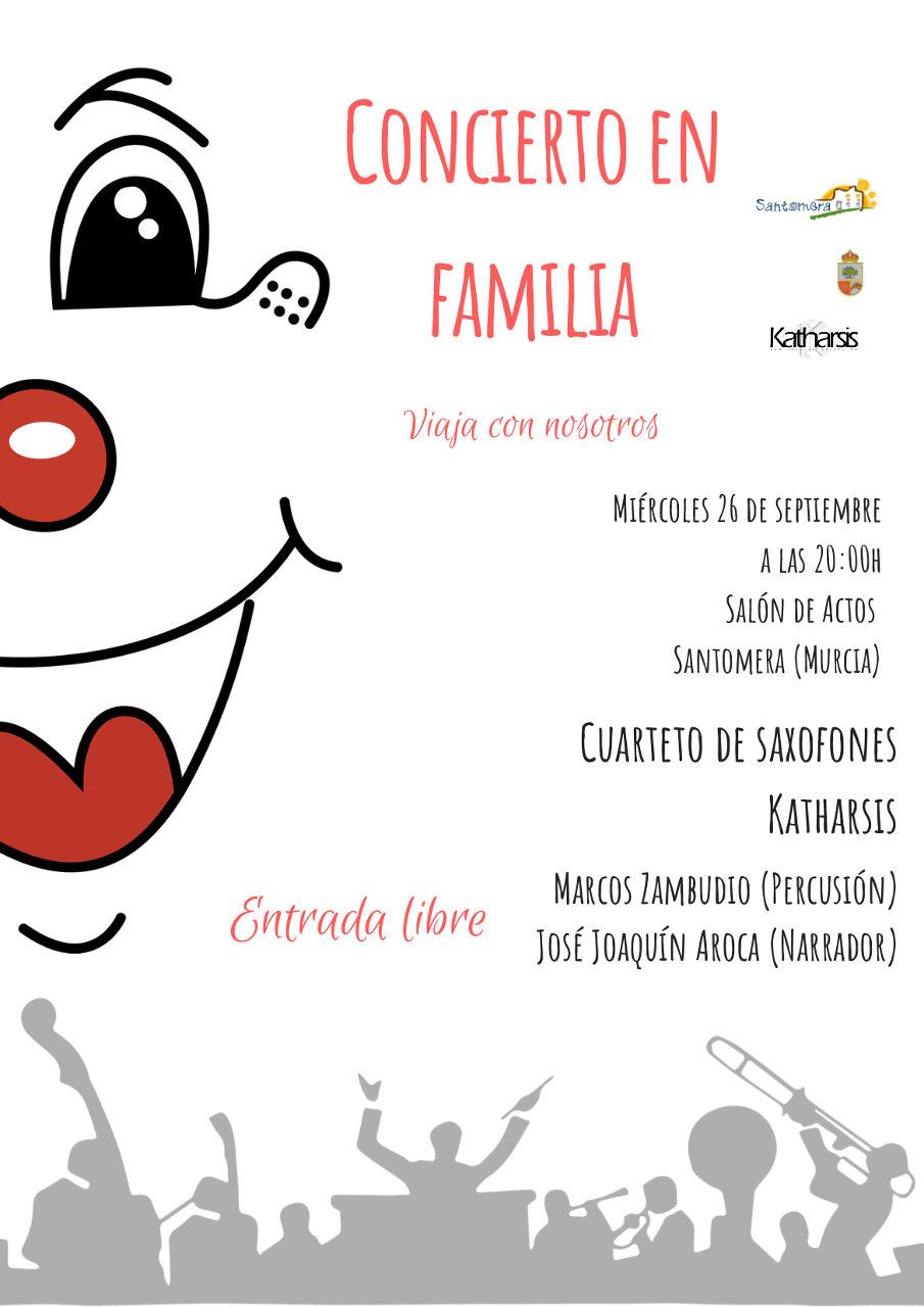 Concierto en familia Santomera 2018
