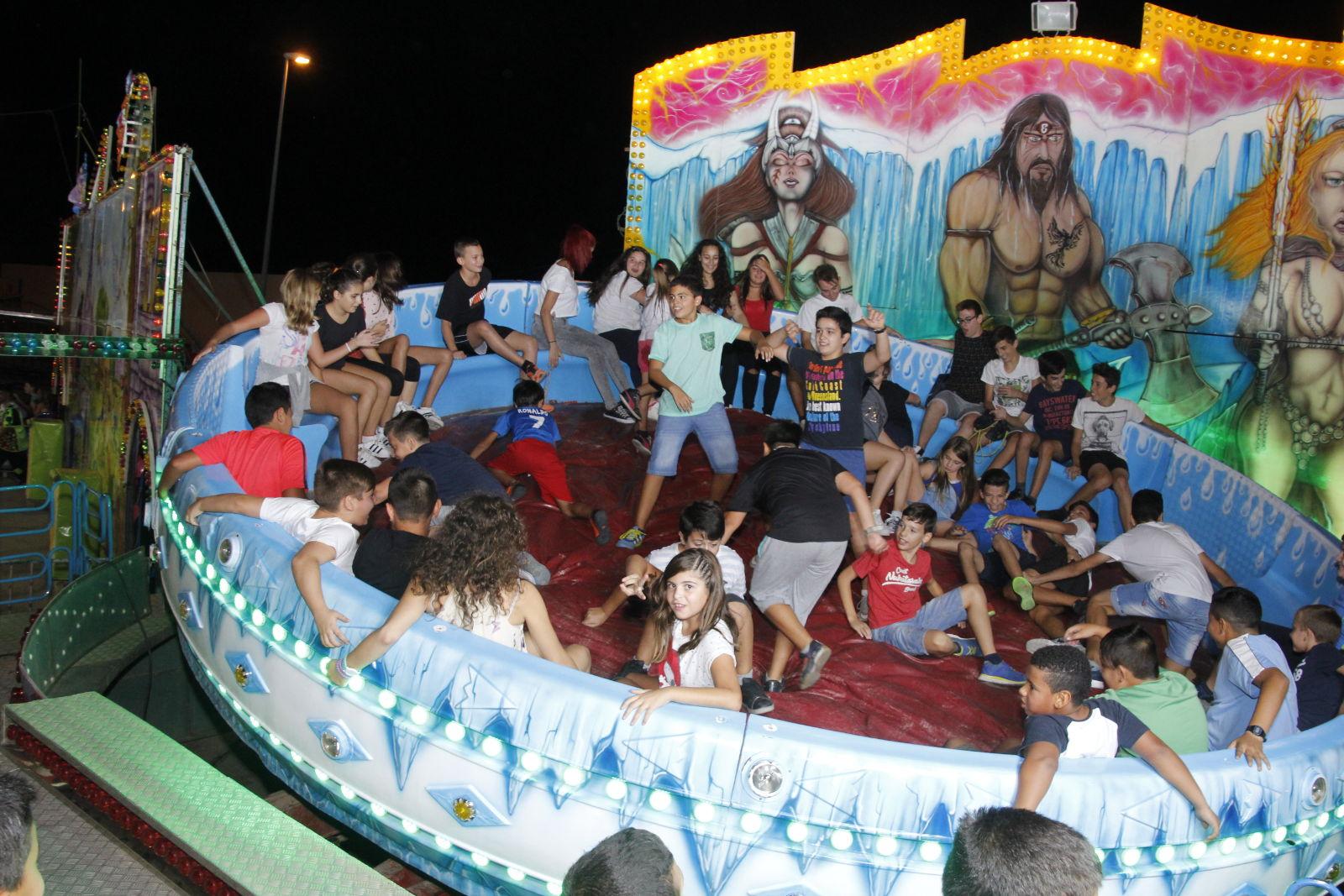 Feria atracciones