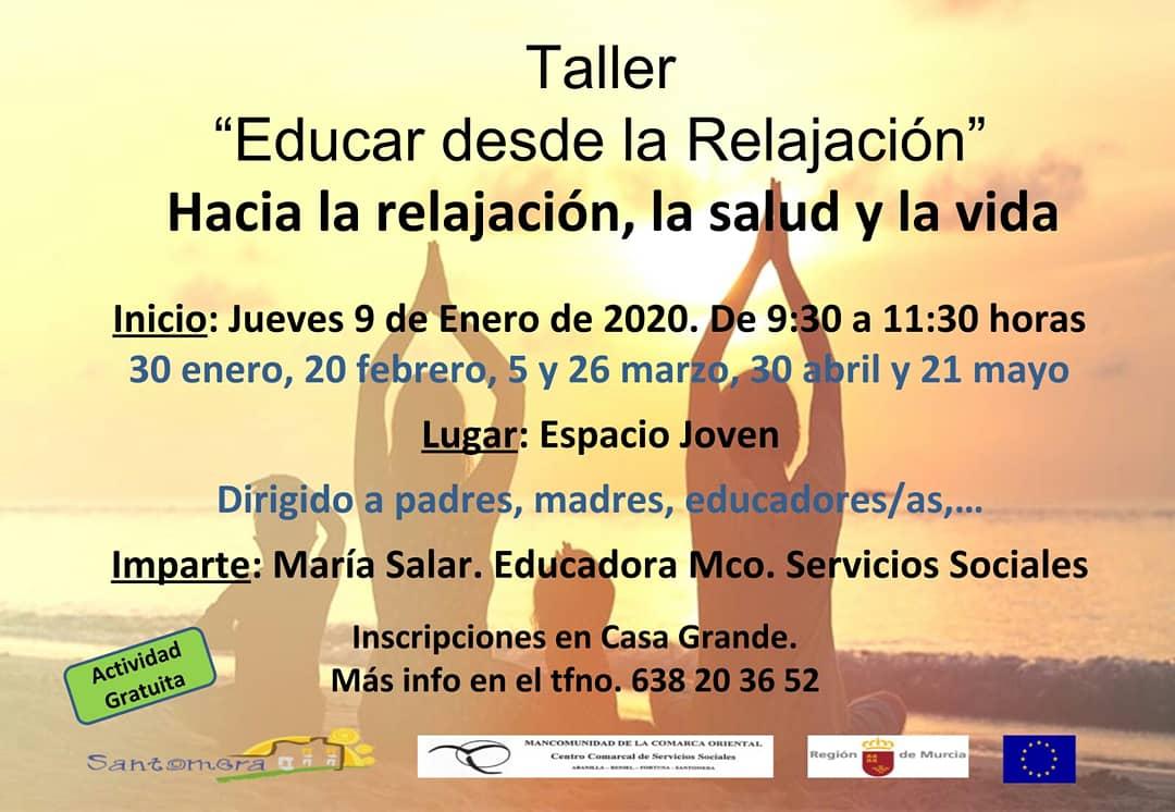 20200109.- Taller Educar desde la relajacion
