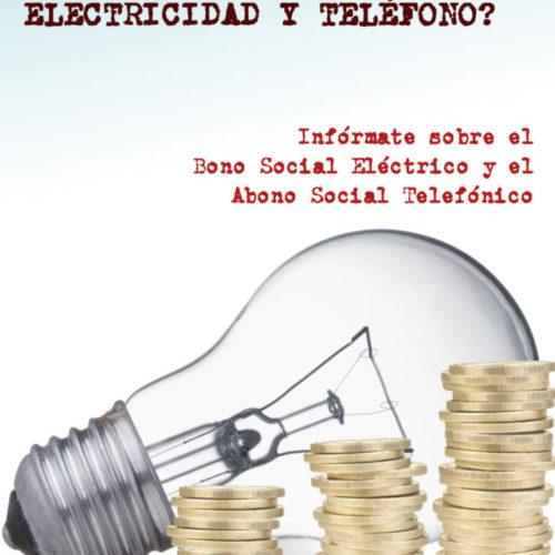 Bono social electrico y abono social telefonico