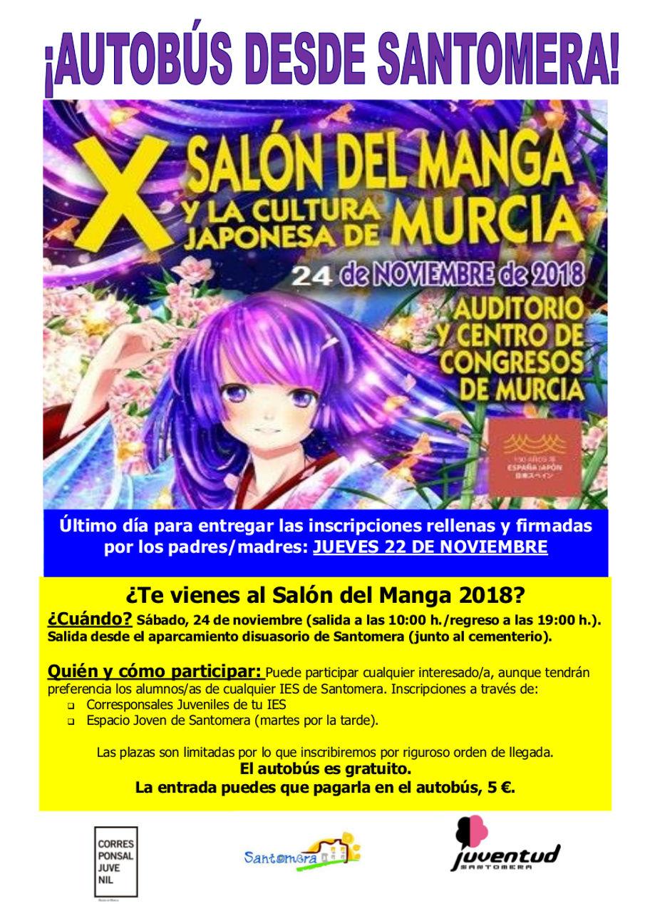 CARTEL SALÓN DEL MANGA 2018