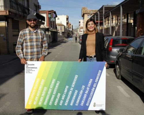 Presentacion proyecto remodelacion calle Gloria