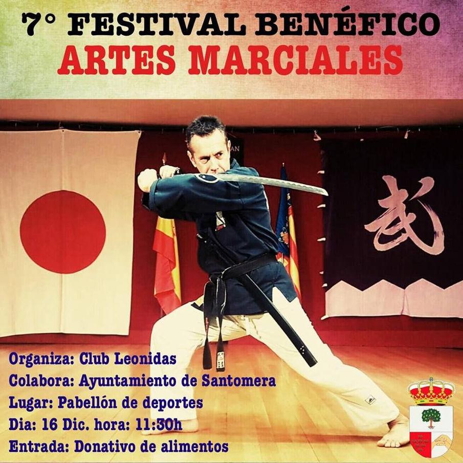 Festival benefico artes marciales Navidad 2018