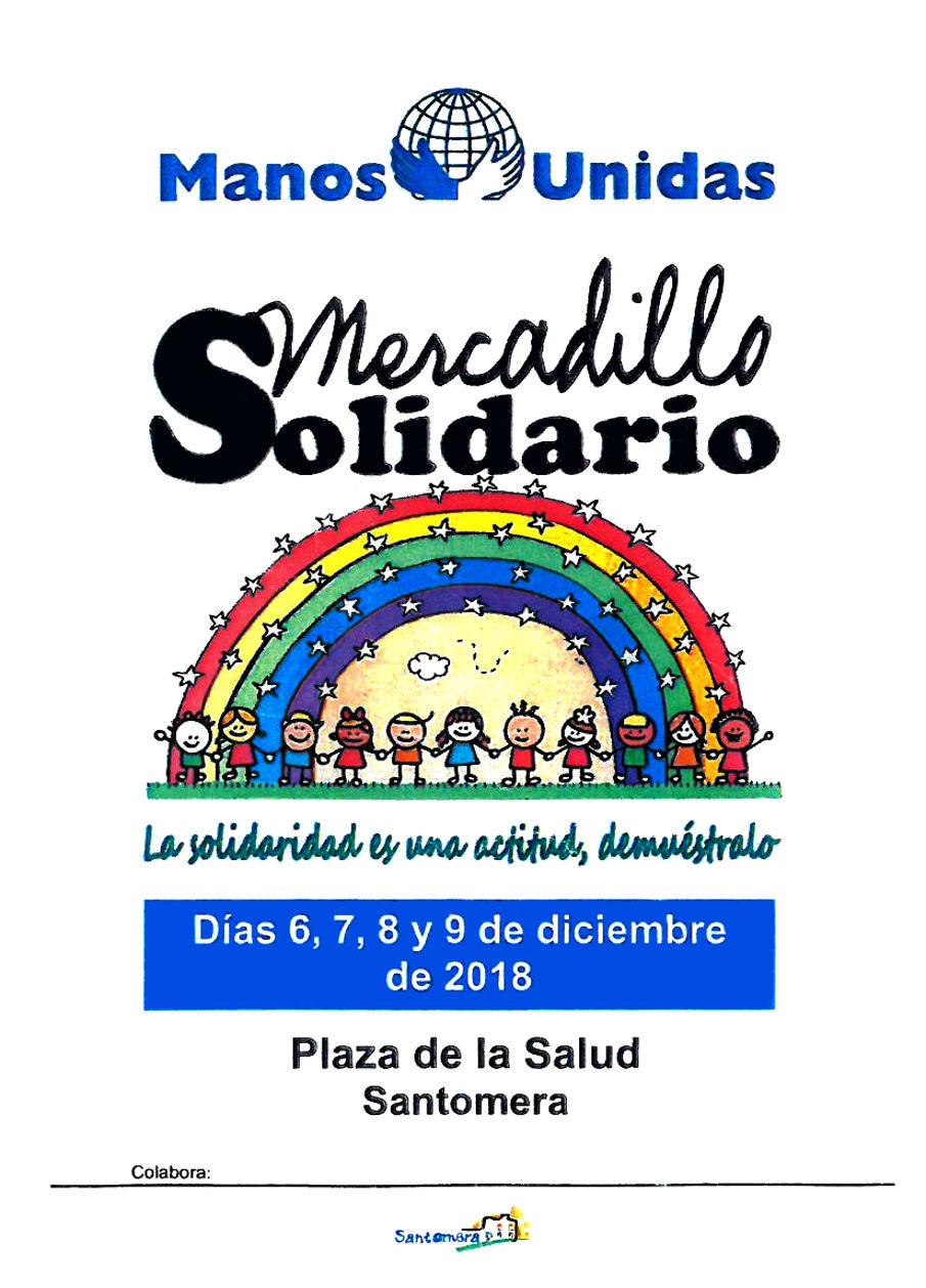 Mercadillo Solidario Manos Unidas 2018