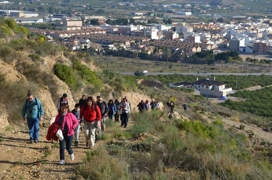 Ruta senderista-cultural poblado argarico Sierra Balumba