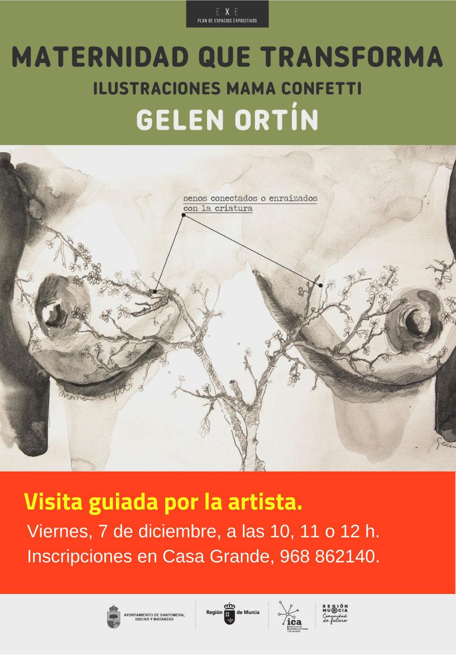 Visita guiada expo Gelen Ortin
