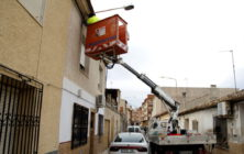 20190122.- Farola fundida calle alta arreglo