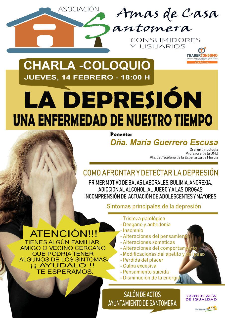 20190214.- Conferencia depresion amas de casa