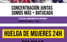 20190308.- Concentracion y huelga feminista