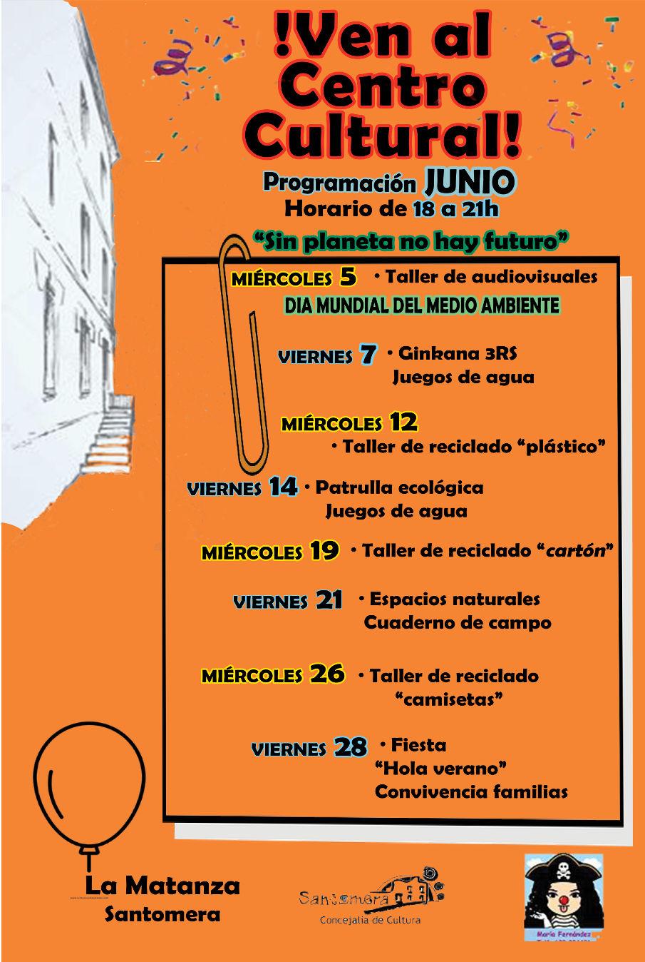201906_Programacion centro cultural La Matanza