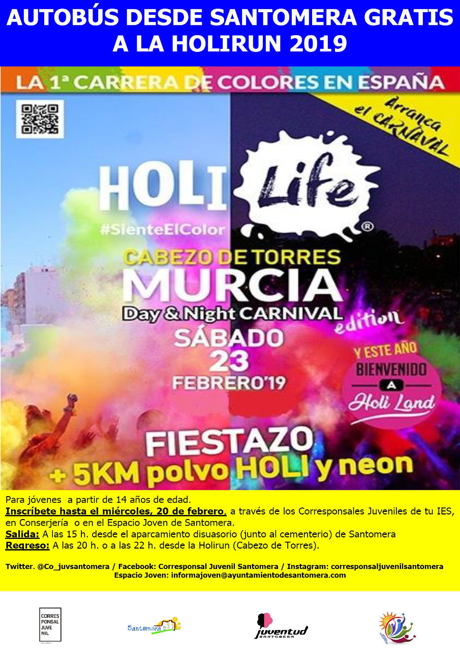 CARTEL HOLIRUN 2019