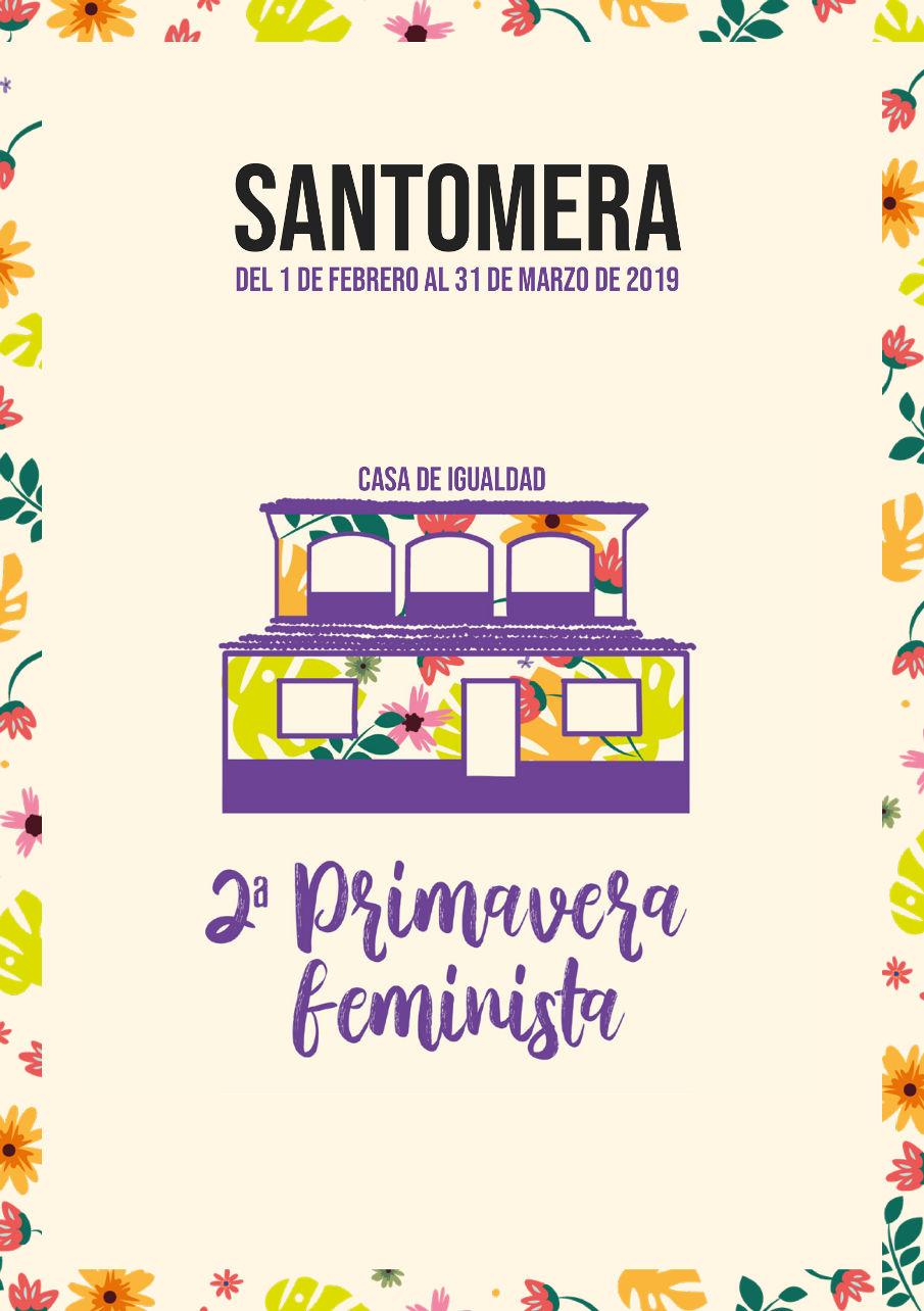 Folleto completo II Primavera Feminista - Portada