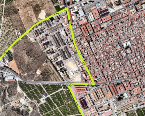 Recorrido Vuelta Ciclista Murcia 2019