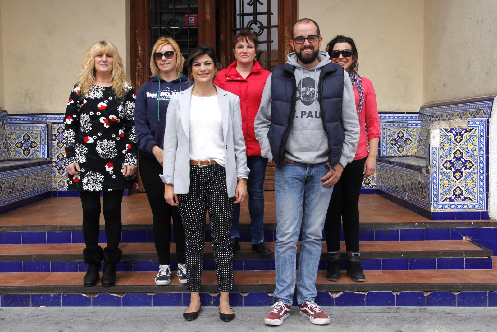01. Jardineras, alcaldesa y concejal web
