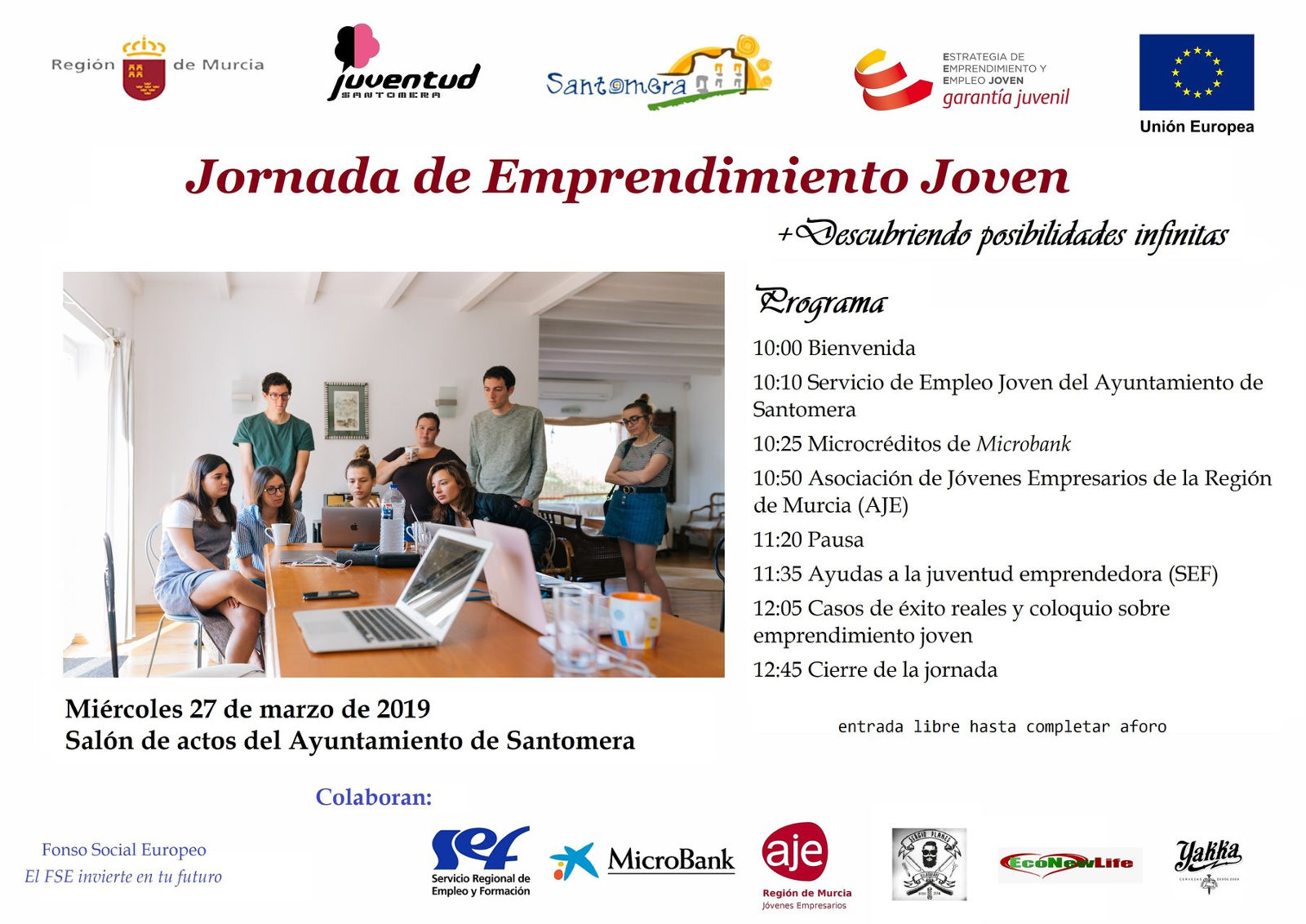 20190327.- III Jornadas de Emprendimiento