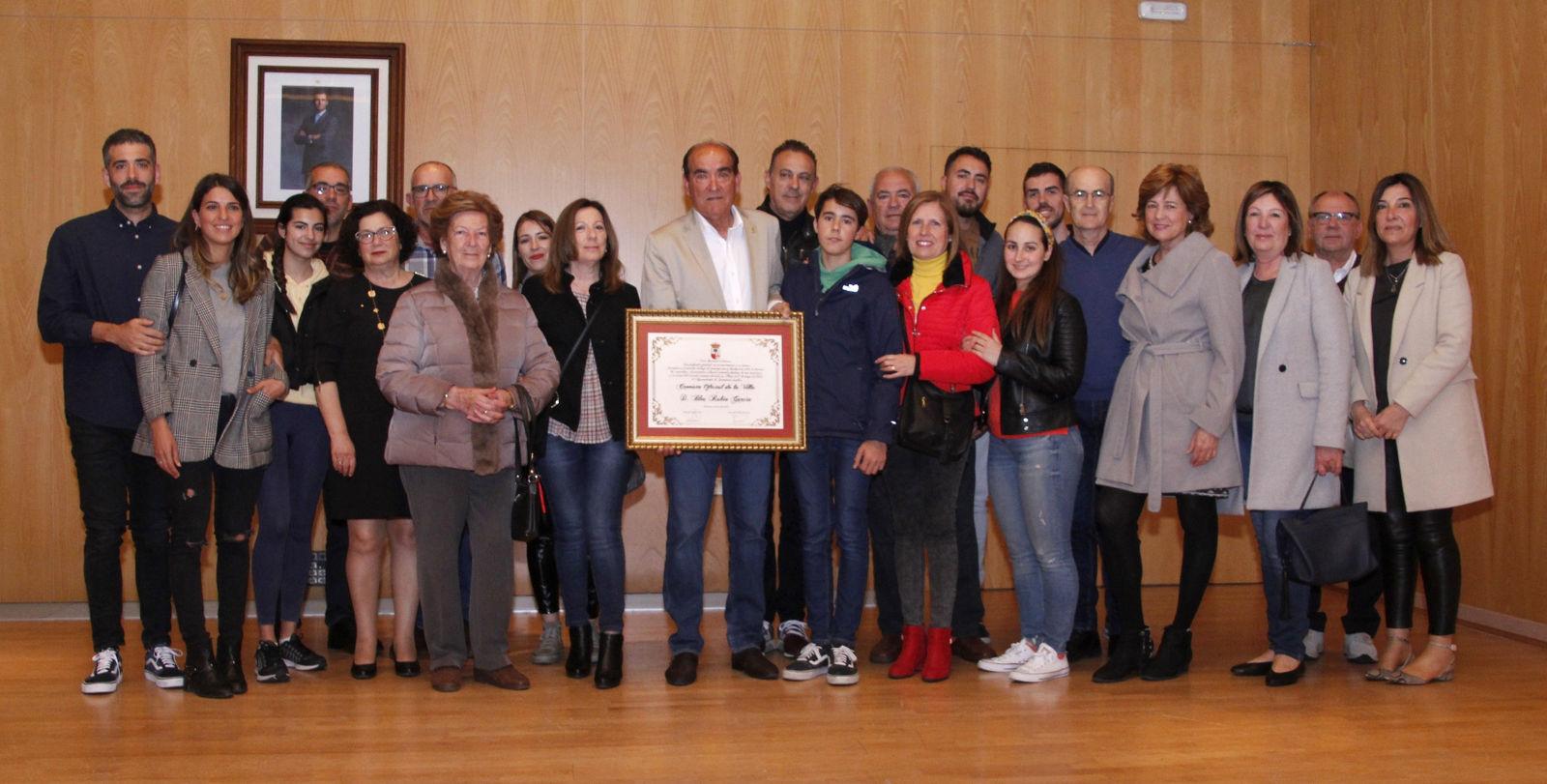 20190410.- Cronista Blas Rubio y familia
