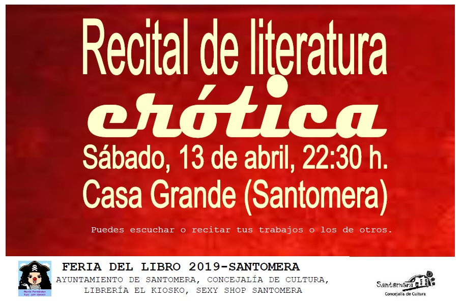 20190413.-- CARTEL RECITAL EROTICO