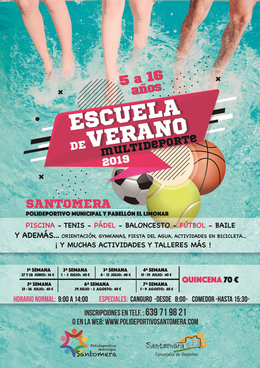 201906.- Escuela de Verano Multideporte