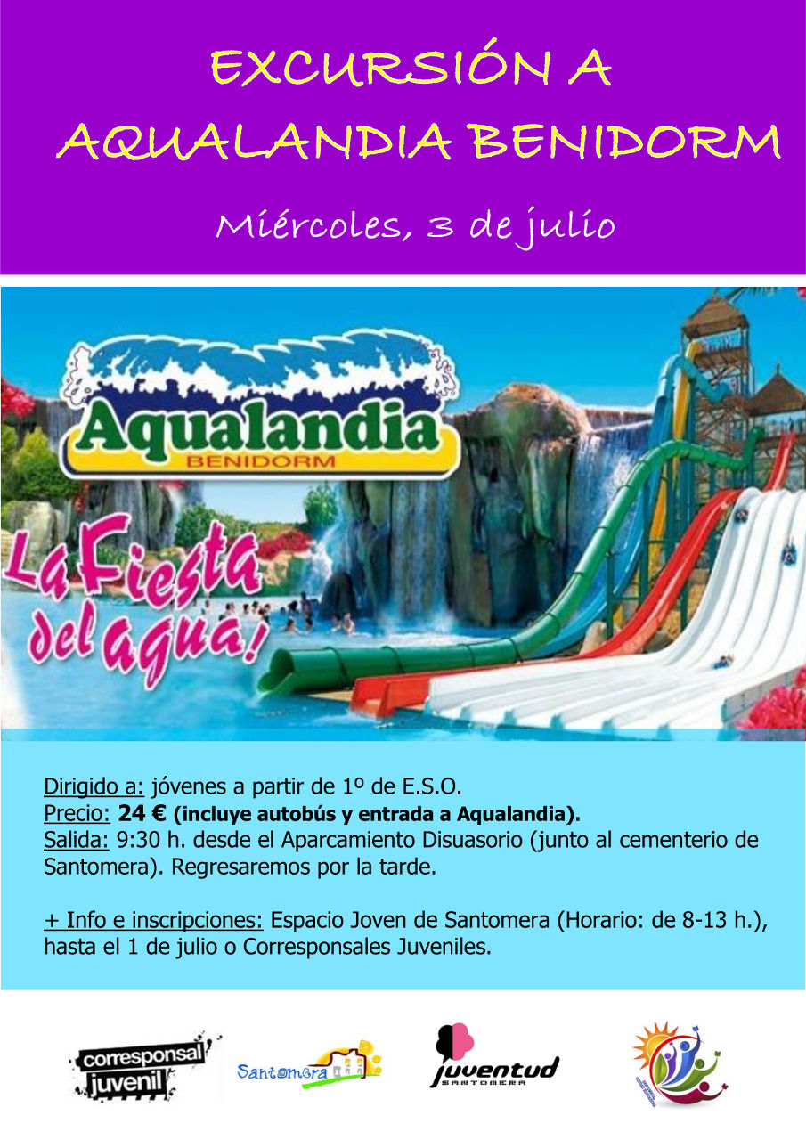 20190703.- Excursion Aqualandia Benidorm
