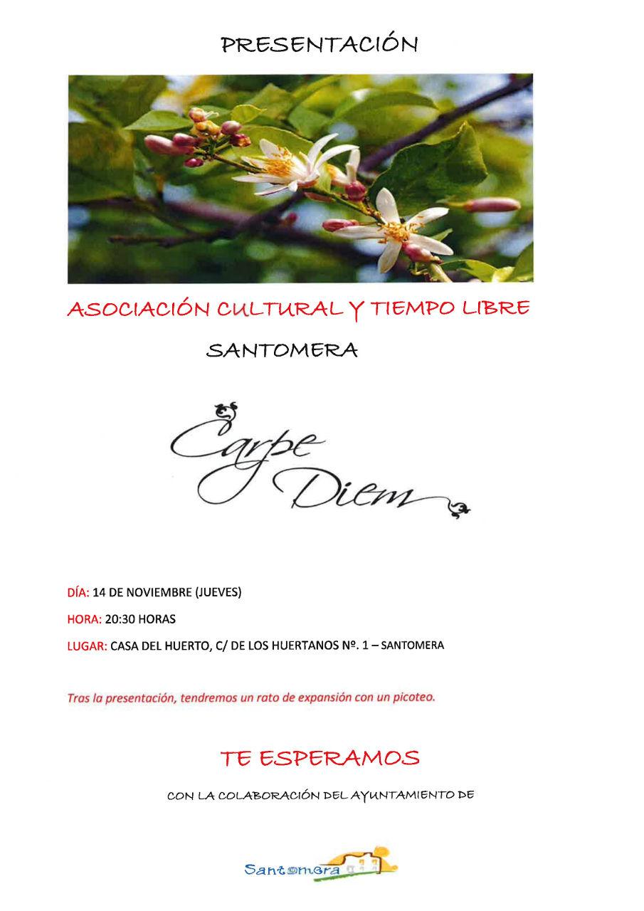 20191114.- Presentacion Asociacion Carpe Diem