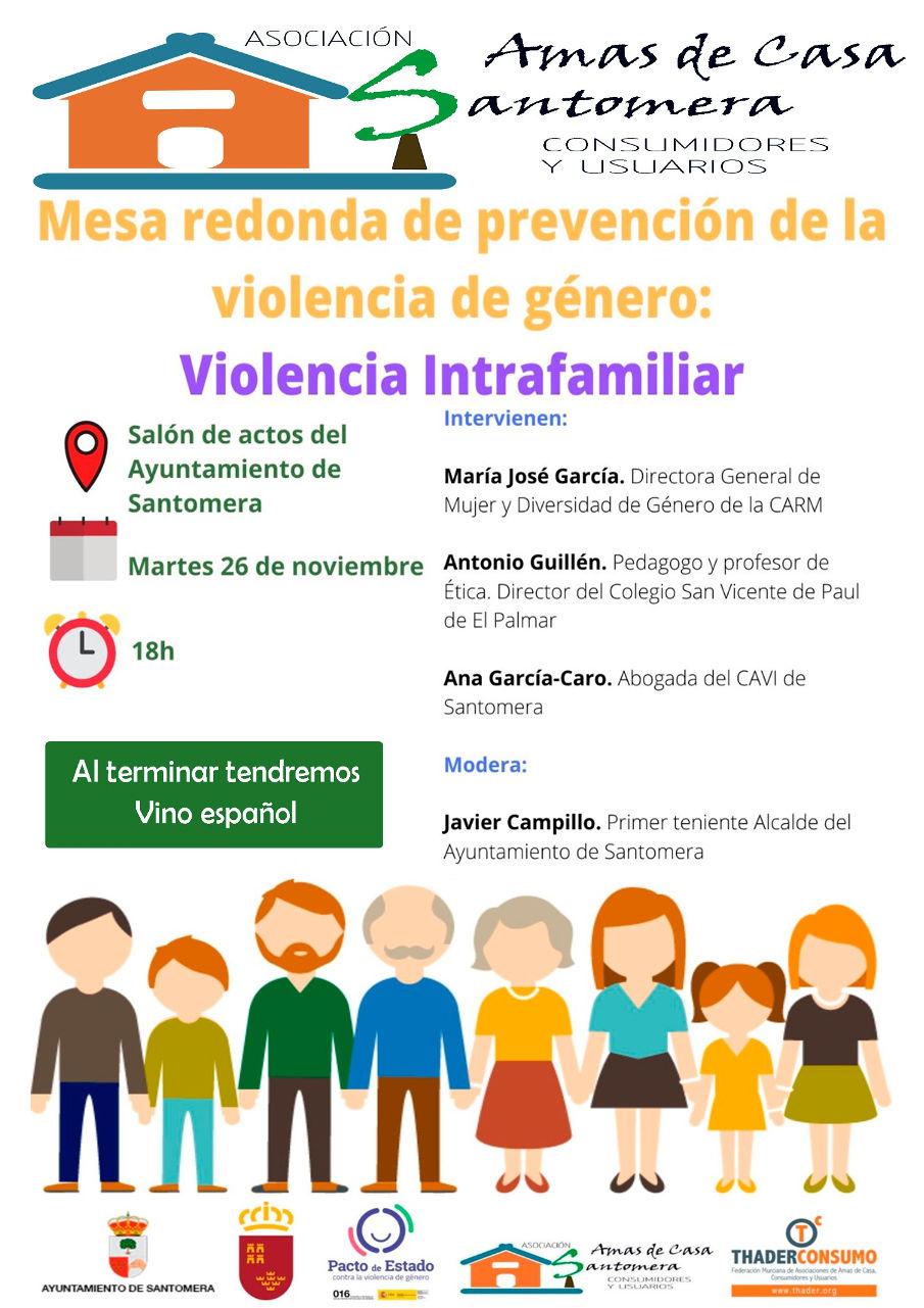 20191126.- Charla Amas de Casa violencia de genero