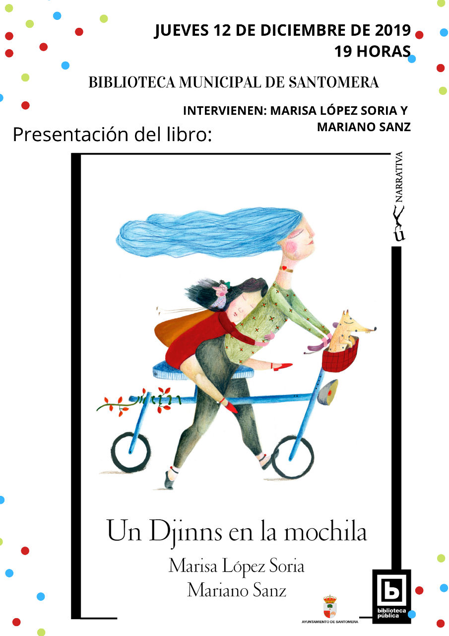 20191212.- Presentacion libro Mariano Sanz y Marisa Lopez