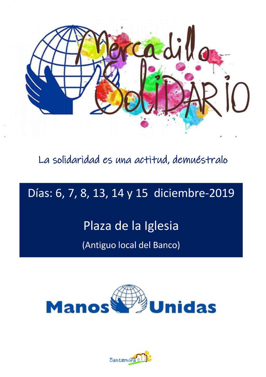 20191213.- Mercadillo solidario Manos Unidas
