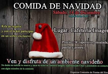 20191214.- Comida Comision Fiestas El Siscar