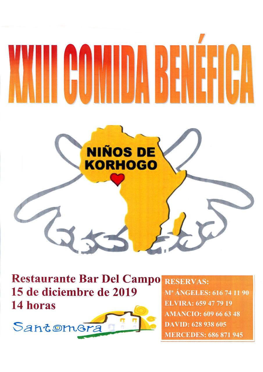 20191215.- Comida Niños de Korhogo